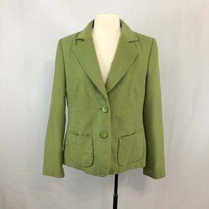 Pierre Cardin Leaf Green Jacket